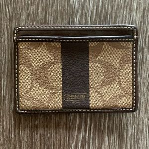 Coach cars wallet REAL